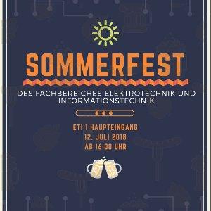 ETI Sommerfest Flyer